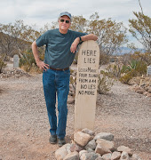 A poetic gravesite at Boot Hill, Tombstone Arizona.