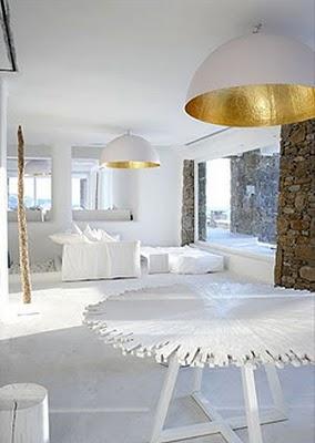 Un faro de ideas hotel de lujo en mikonos grecia for Decoracion casa griega