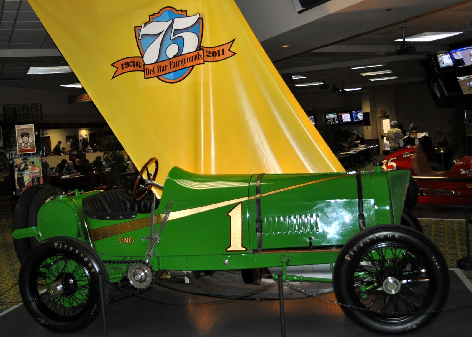 1911 Ono, A Vintage Chain Driven Race Car, And One Of Lindley Bothwellu0027s  Speed Demons