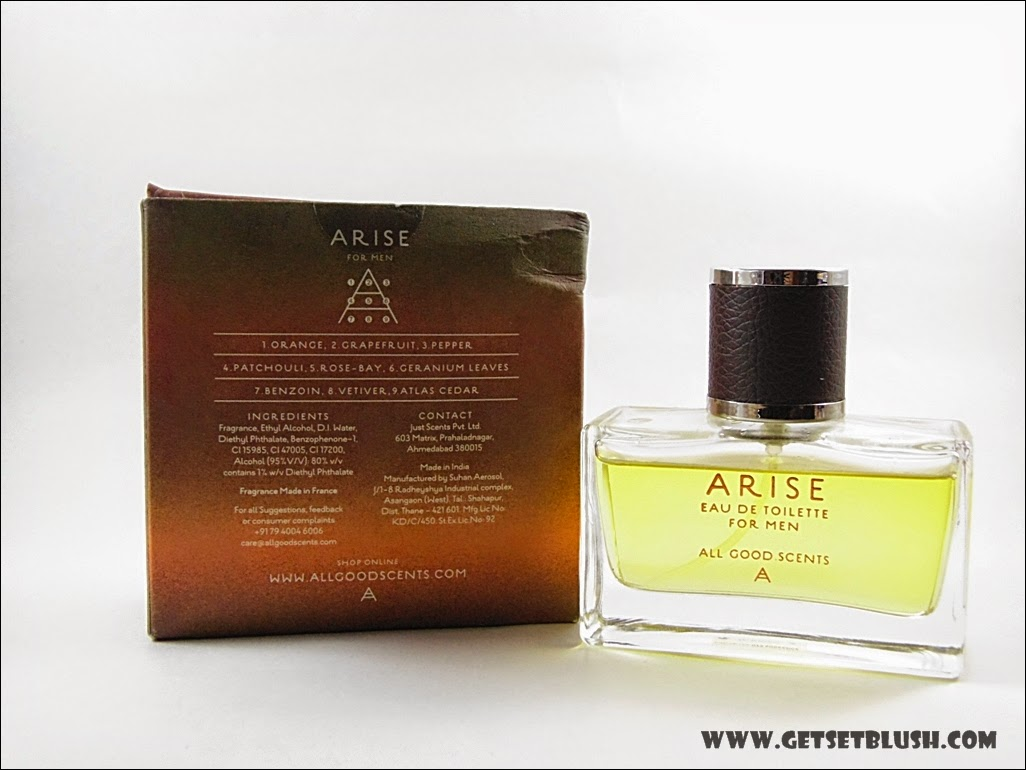 All Good Scents - Arise -for the Mystery Man - Review