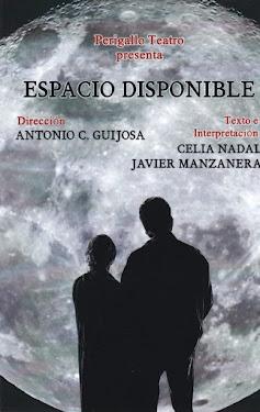 """PRÓXIMA ACTUACIÓN: """"ESPACIO DISPONIBLE"""" DE PERIGALLO TEATRO"""