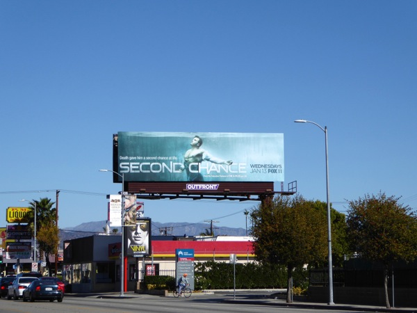 Second Chance series launch billboard