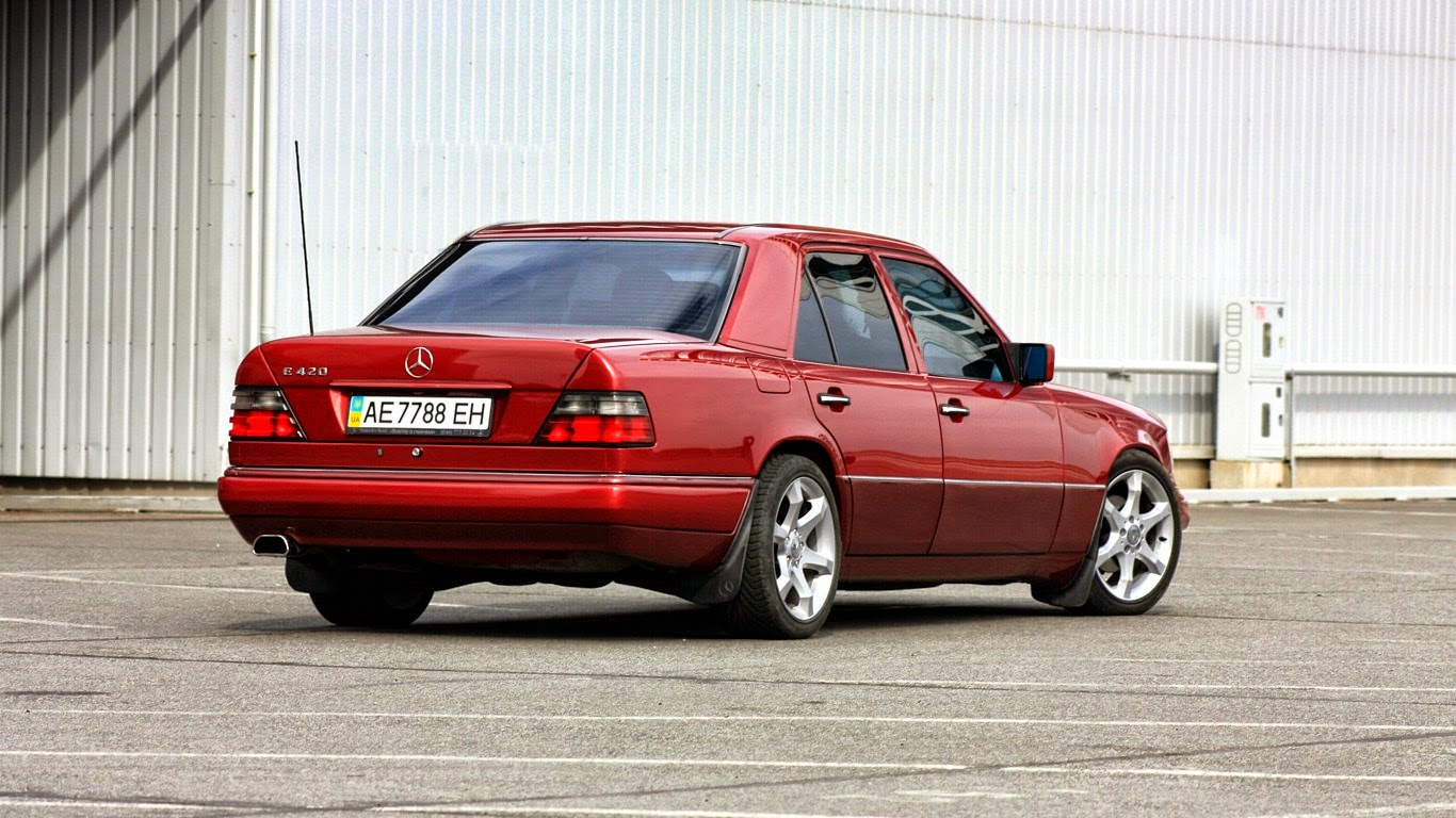 Mercedes benz e420 w124 red benztuning for Mercedes benz w