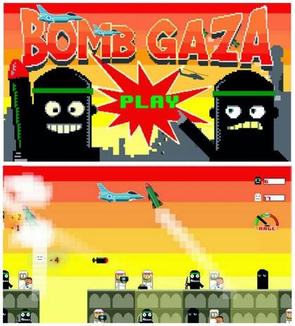 Permainan Video Bomb Gaza