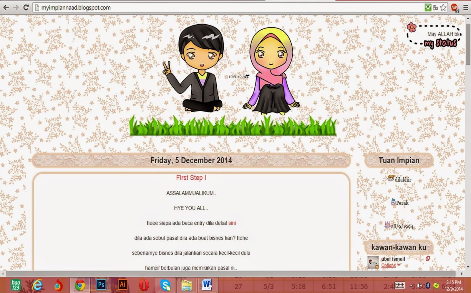 ::  Review Blog #3 : Blog My Impian !