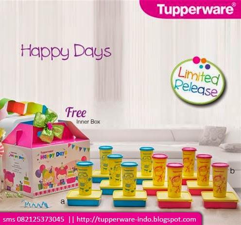 Tupperware Happy Days