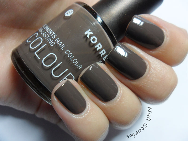 Korres - Grey Brown #95   Nail Art Ideas