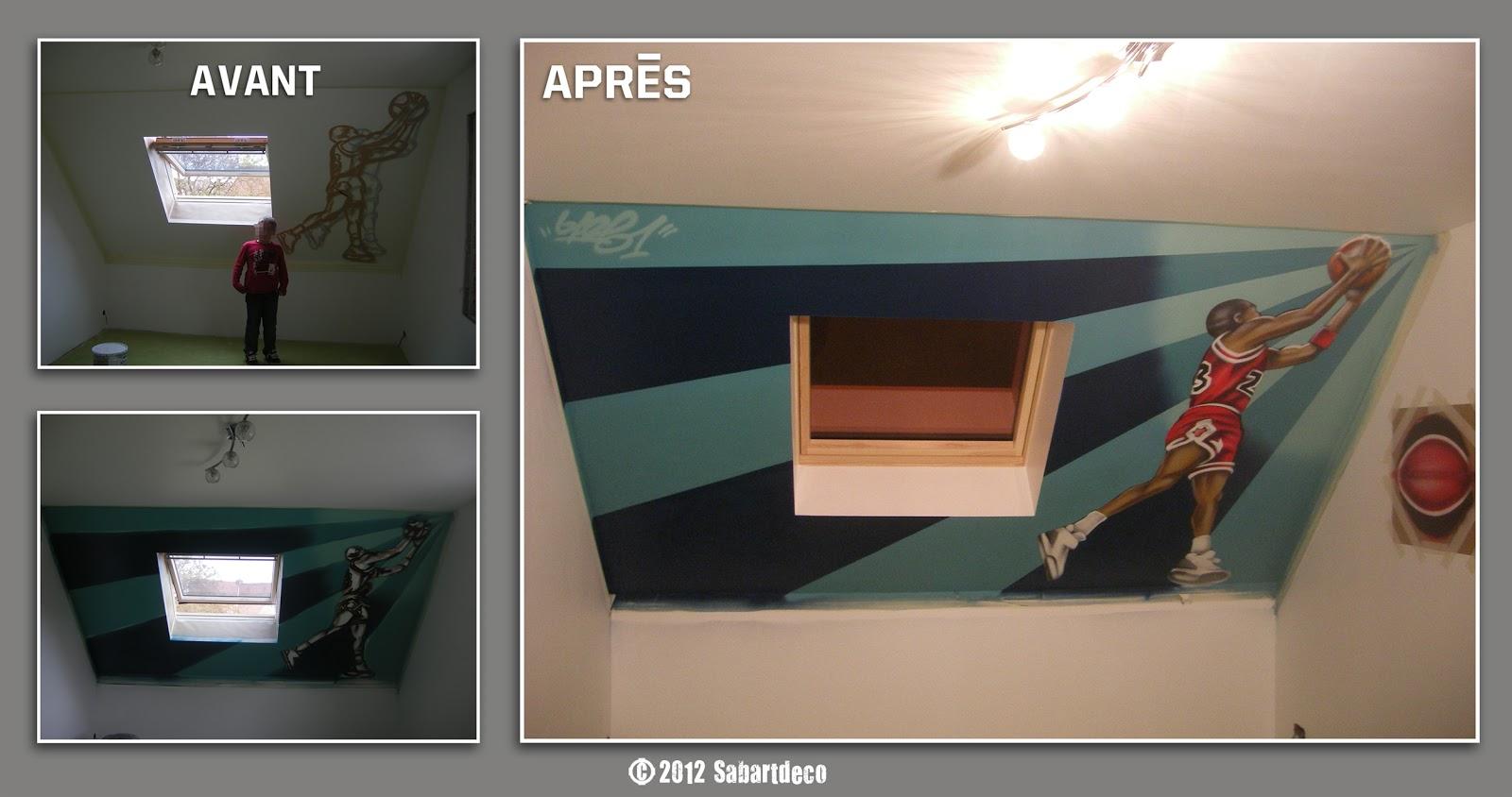 d coration chambre th me basket sabartdeco. Black Bedroom Furniture Sets. Home Design Ideas