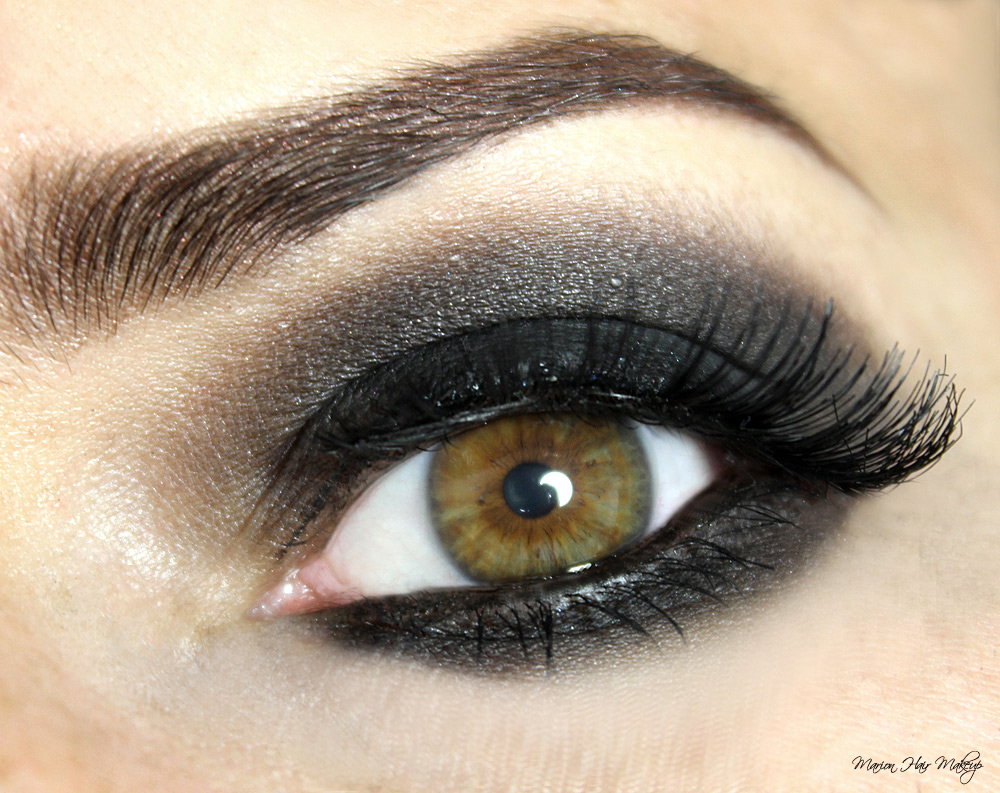 marion hair makeup smokey eyes tutorial. Black Bedroom Furniture Sets. Home Design Ideas