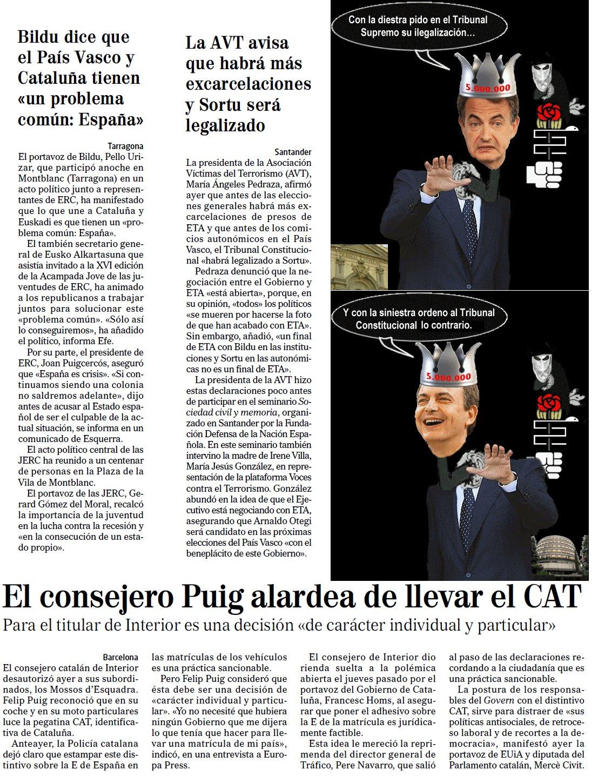 Zapatero embustero