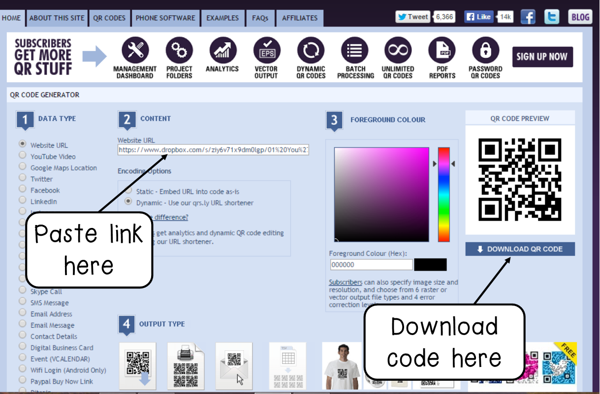 Comfortable Qr Code Generator For Business Card Ideas - Business ...
