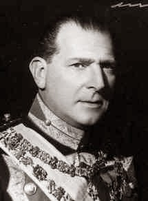 Don Juan de Borbón y Battenberg, comte de Barcelone 1913-1993-Bourbons Espagne