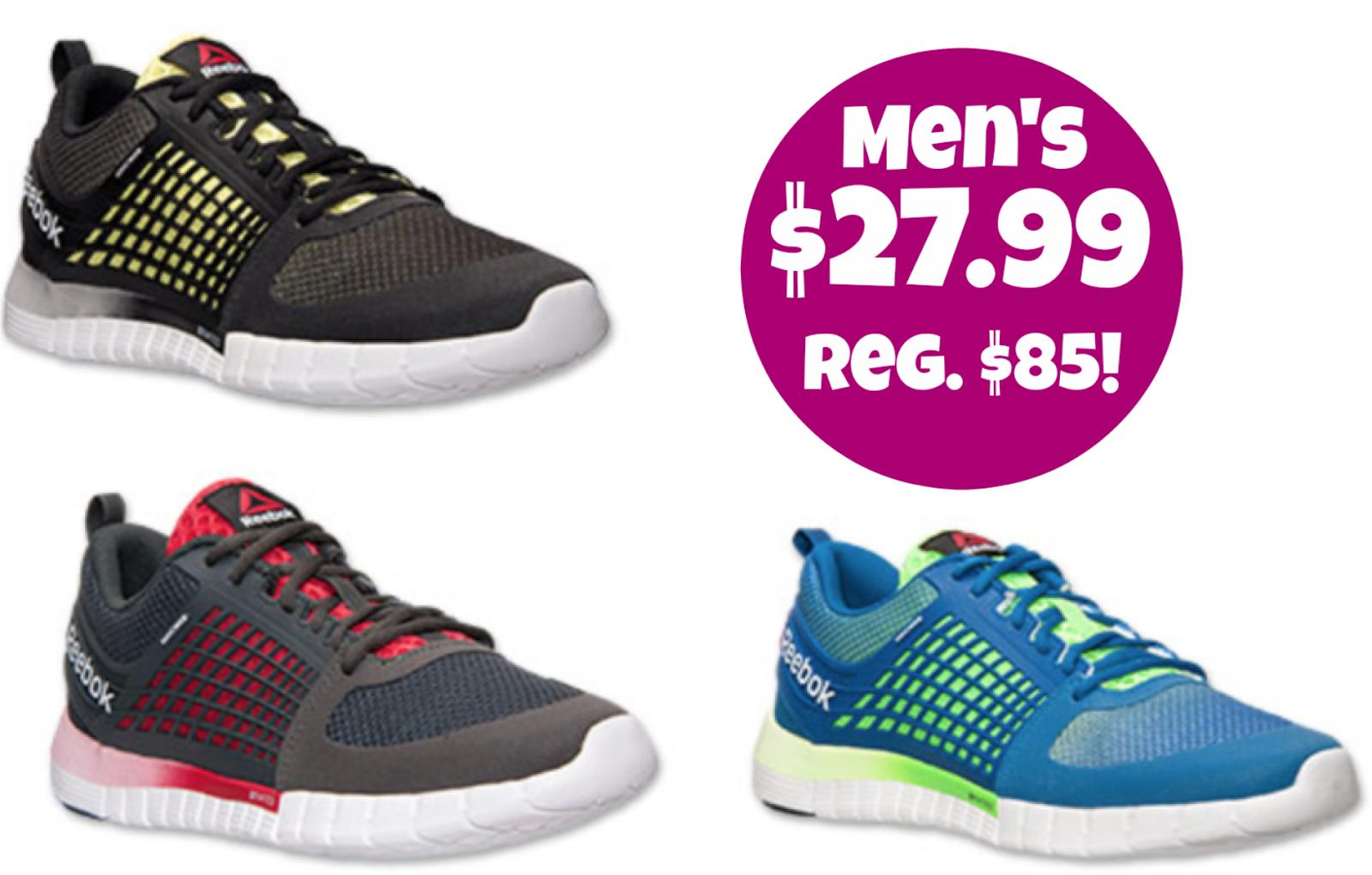 FinishLine: Men's Reebok ZQuick 2.0 Running Shoes = $27.99 (or $33.48 shipped)! Regularly $85!