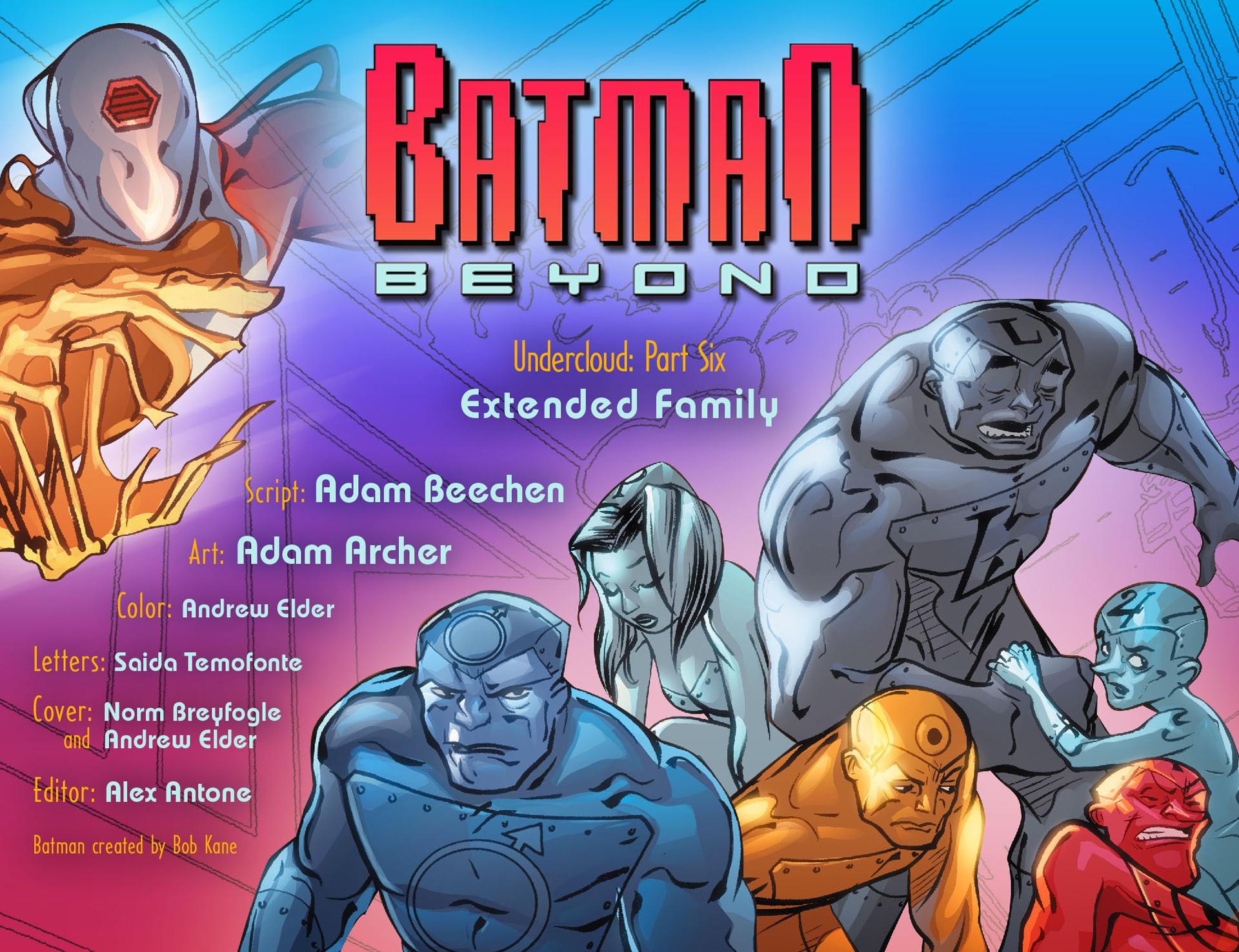 Batman Beyond (2012) Issue #26 #26 - English 2