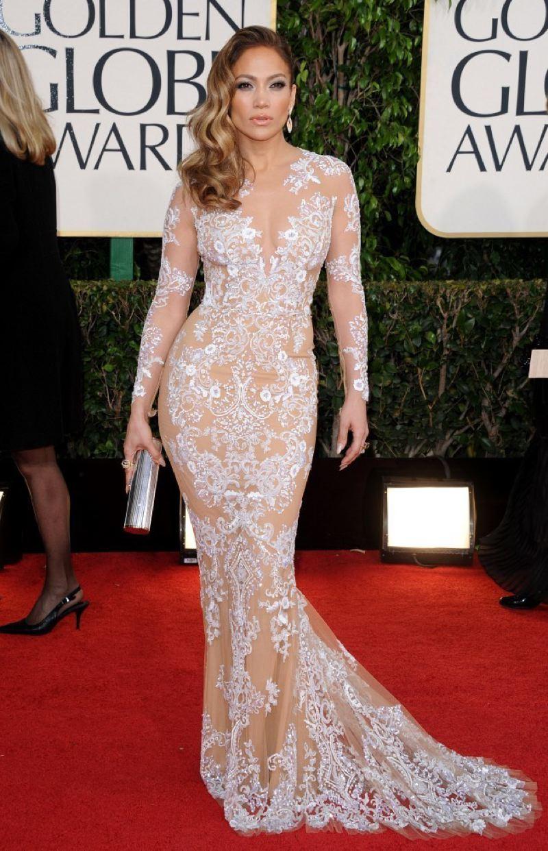 Dear Fashion Diaries: JLo @ 2013 Golden Globes, Jan 13
