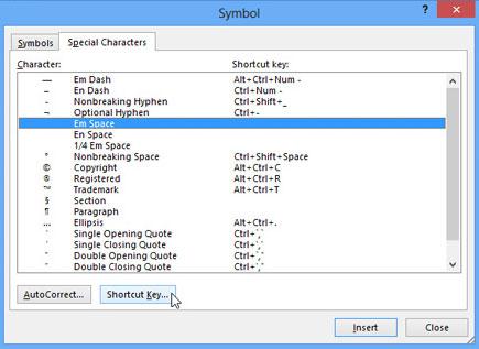 Cách sử dụng biểu tượng trong Microsoft Word 2013 17