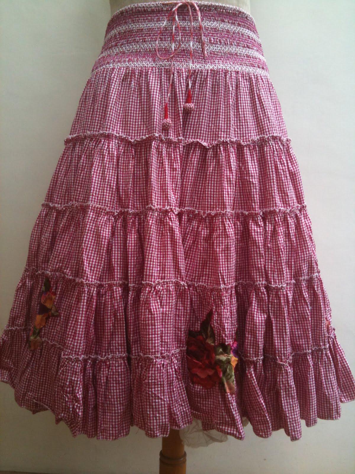 Летняя юбка своими руками 16