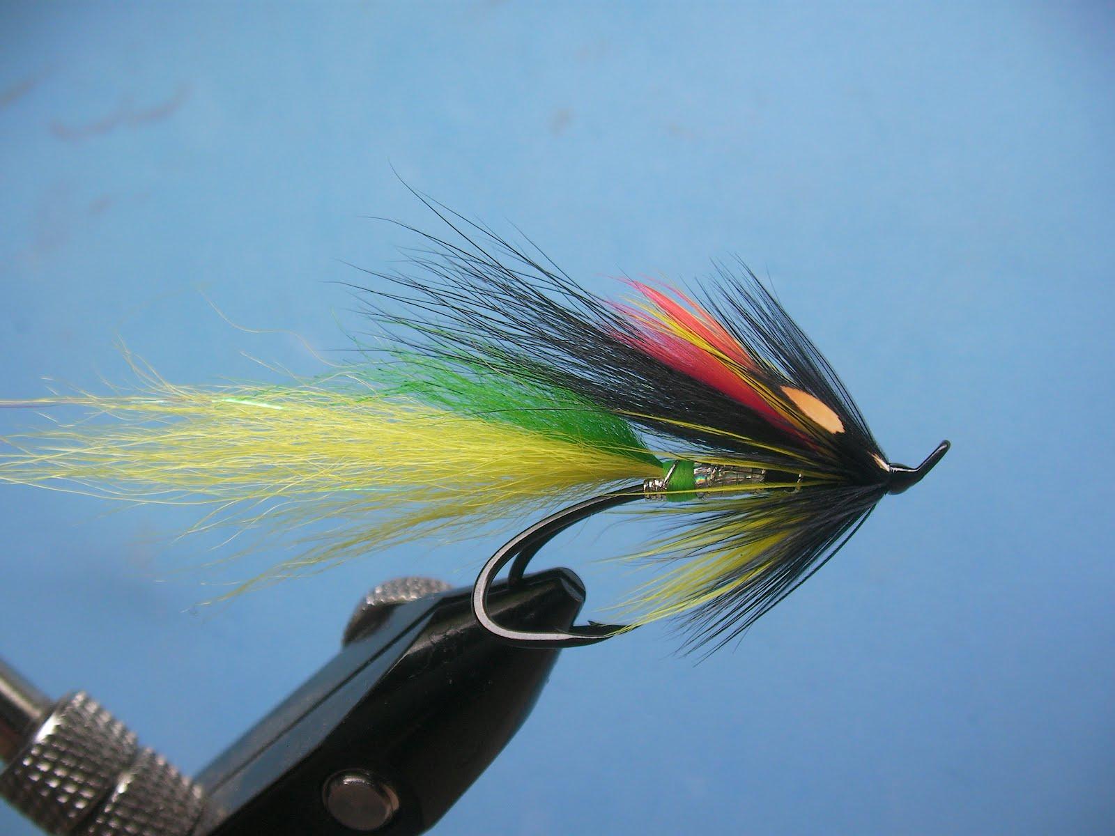 Salmon fly optimistic dastard salmon fly for Salon fly