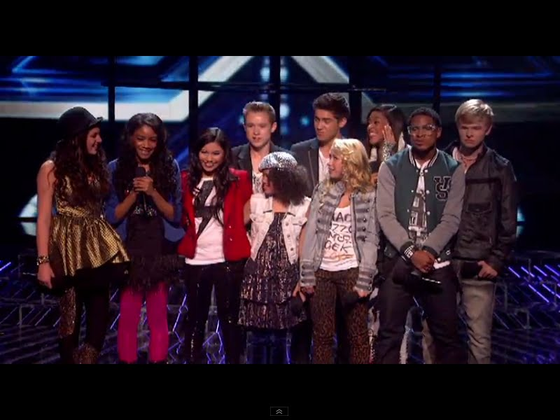 Intensity Song Video X Factor Usa 2011 Live Show The Clapping Song And