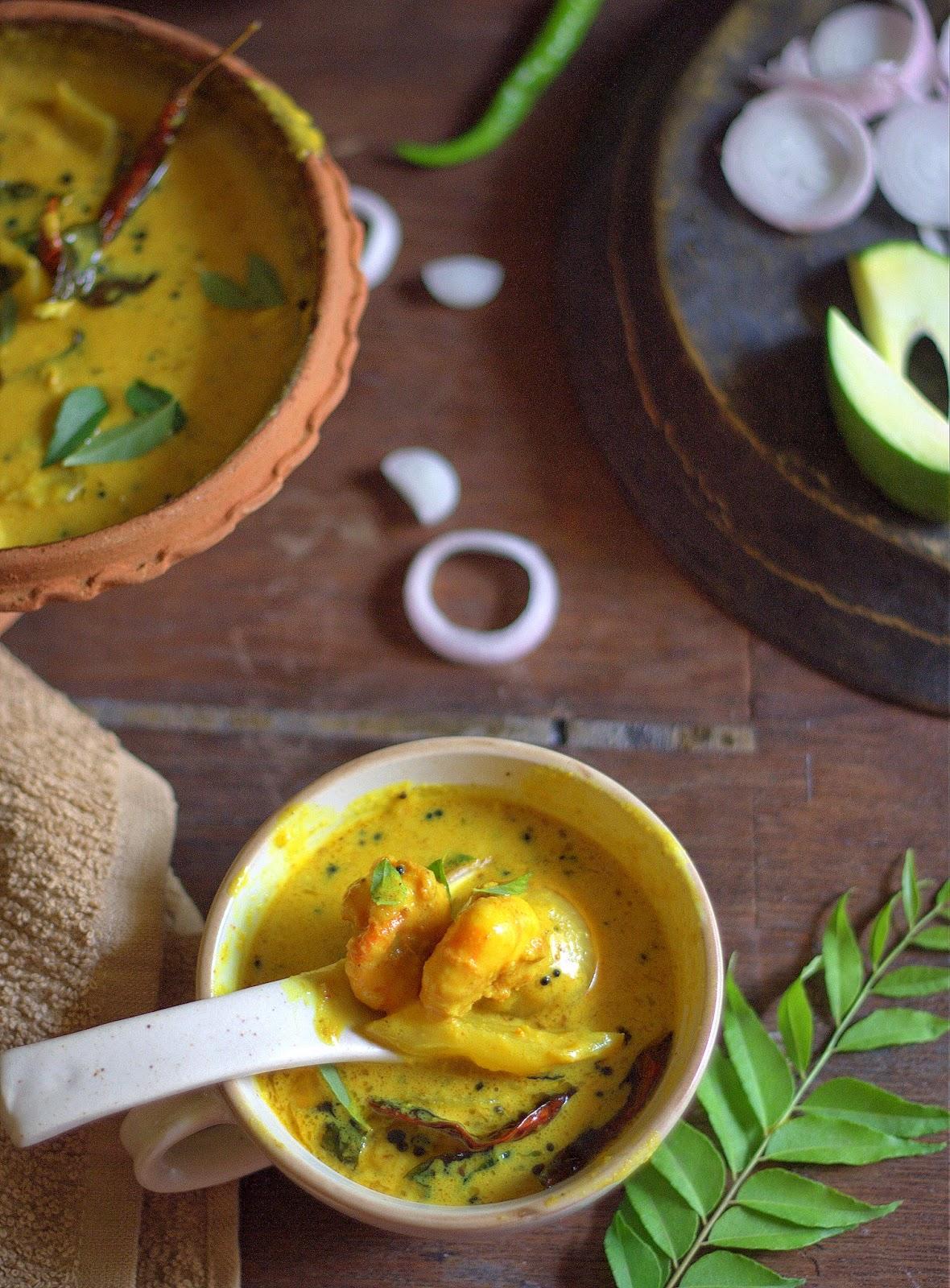 prawn curry in coconut milk