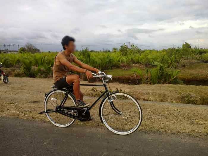 Cycling is the most fun tourist activities in Bali