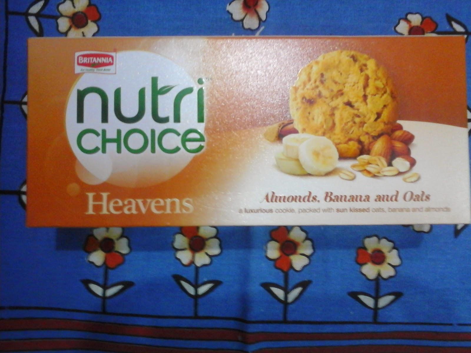 britannia  heaven , nutrichoice , healthy cookies