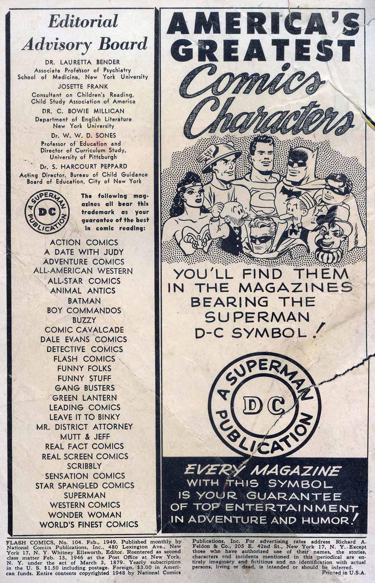 Flash Comics Issue #104 #104 - English 2