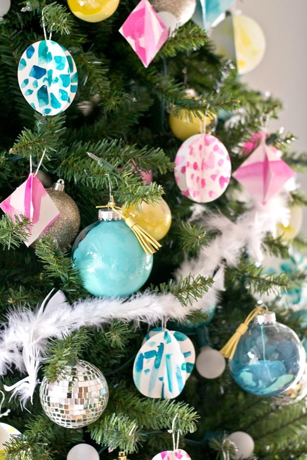 Sarah m dorsey designs michaels maker dream tree for Michaels christmas tree ornaments