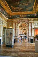 Louvre Museum Interior, Paris