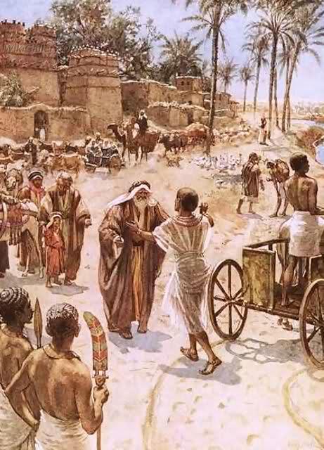 ... Egipto — Se enumeran los descendientes de Jacob — José se reúne