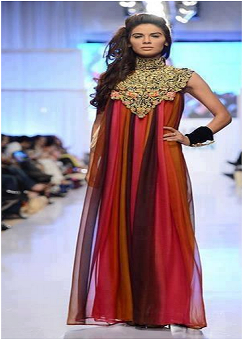Pakistani Bridal and Party Wear Designs 2013