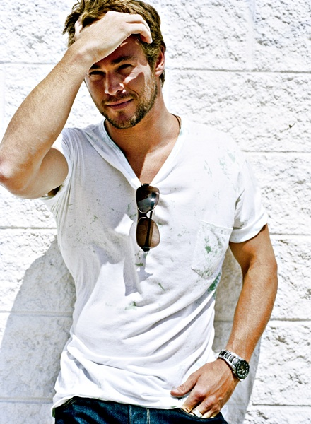 Outfits With White Shirts Men White T-shirt Style Men