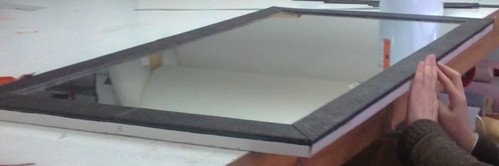 Tapízame...: Cartones tapizados: El marco II
