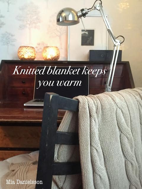 Ikea knitted blanket - Ikea neulepeitto