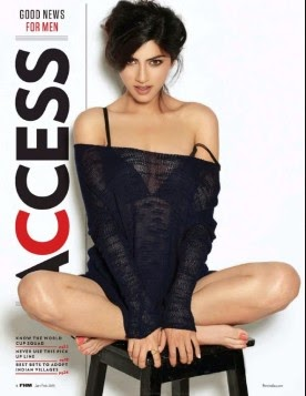 Sapna Pabbi Sizzles on FHM India Februrary 2015 Photoshoot