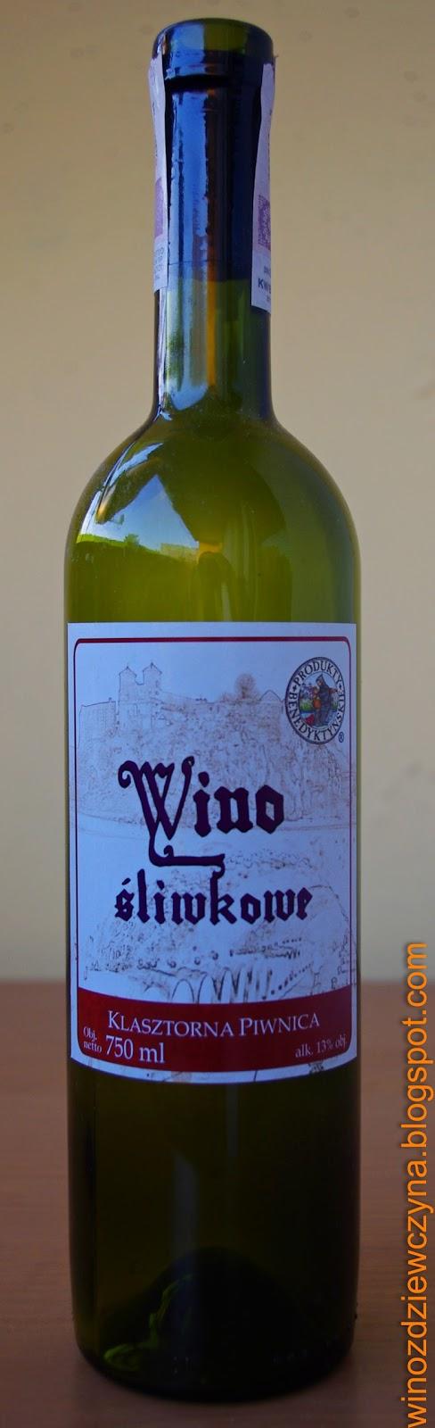Wino Klasztorna Piwnica