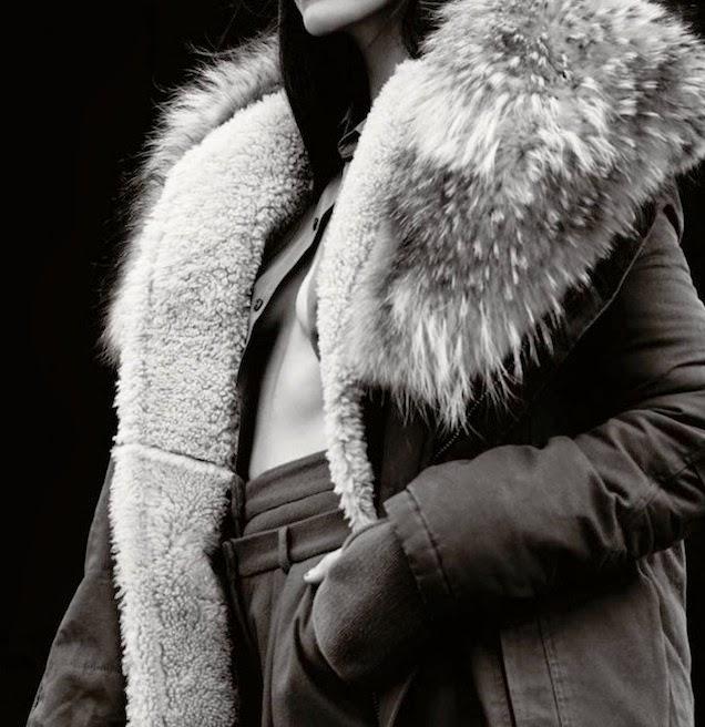 Missy Rayder x Elle UK