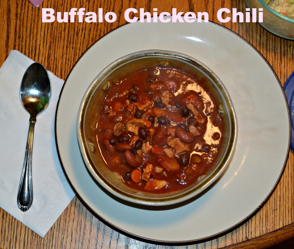 Buffalo Chicken Chili #SundaySupper