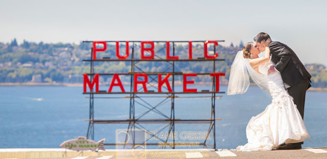 Pike Place Public Market wedding seattle