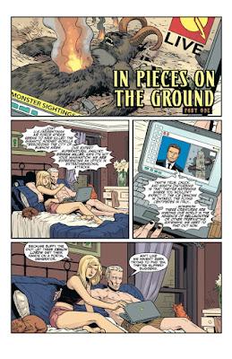 Interior art from Buffy the Vampire Slayer Season Ten #21, courtesy of Dark Horse Comics