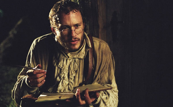 Heath Ledger in Terry Gilliam's The Brothers Grimm