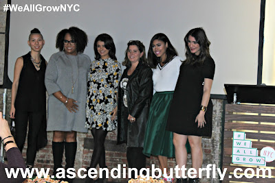 Group Shot of Panelists at We All Grow Summit #WeAllGrowNYC 2015