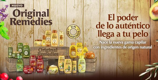 Original Remedies Garnier nueva gama capilar para un pelo saludable