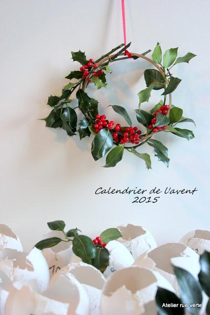 DIY / Calendrier de l'avent 2015 / Photos Atelier rue verte, le blog / 1