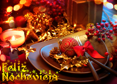 Imágenes de Nochevieja con cena de fin de año