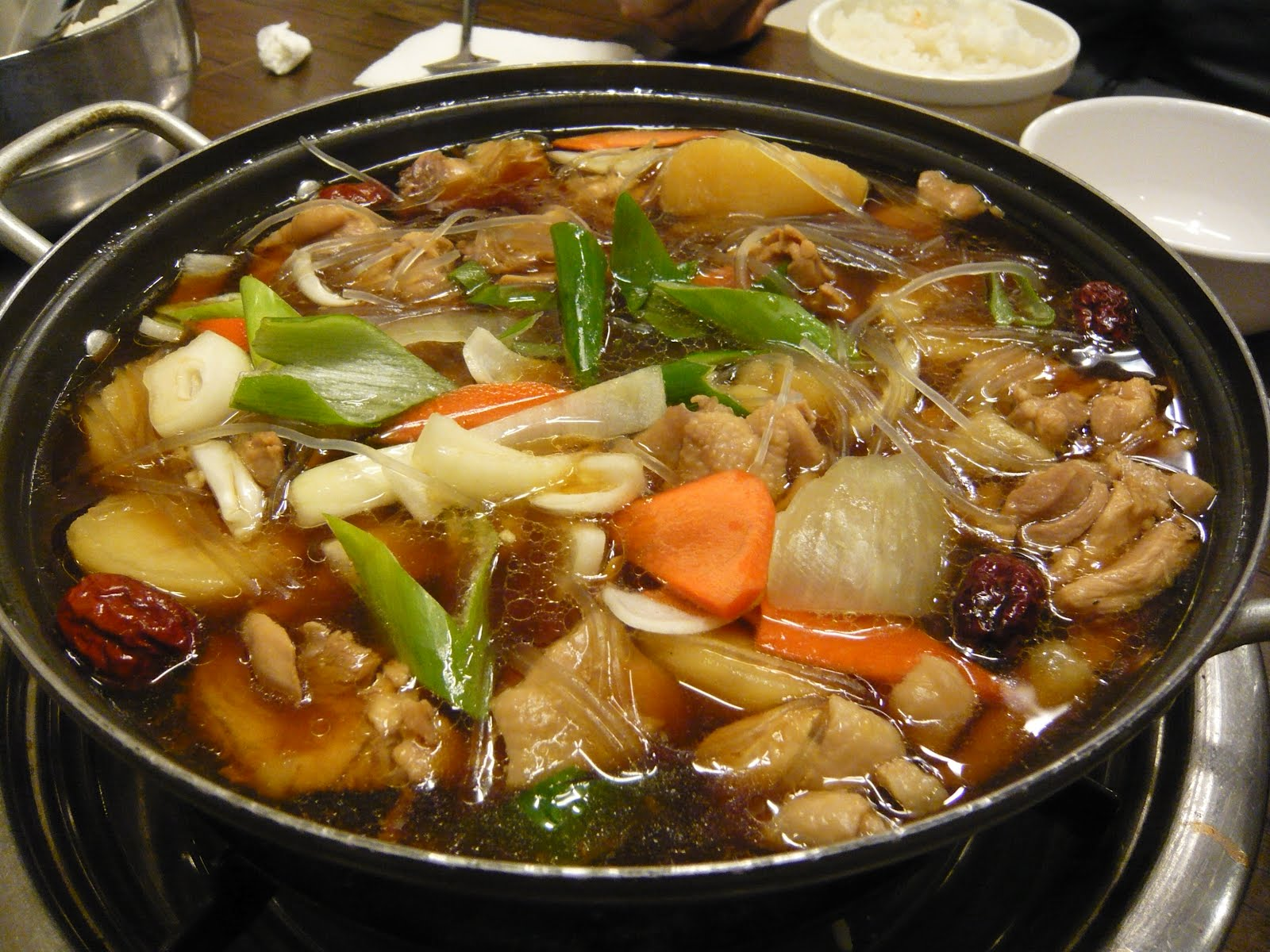 Rainbows korean food for Cuisine korean