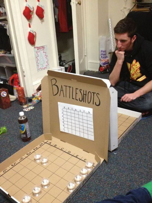 Battleshots - Human Liver Hates This Game