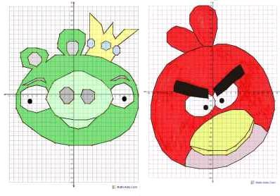 Homeschool Parent: Fun Angry Birds Graphing Worksheets
