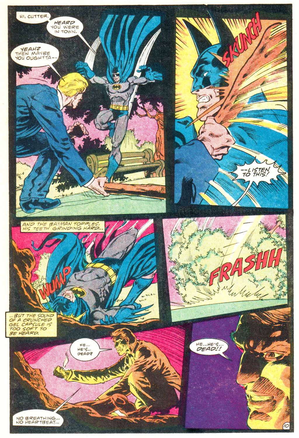 Detective Comics (1937) Issue #552 Page 12