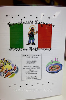 Ranchero's Taqueria's Menu Page 1